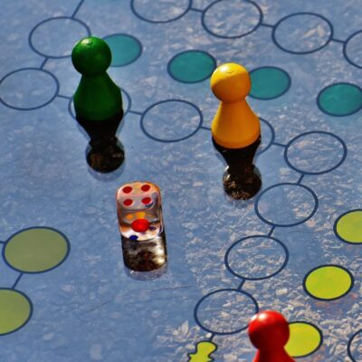 blue-and-yellow-board-game-207924